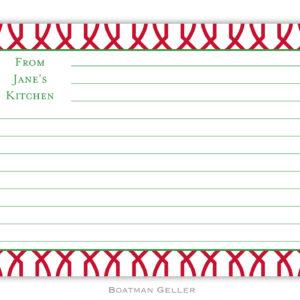 Recipe Cards - Trellis Reverse Cherry